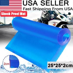 25*25*2cm Motorcycle Seat Gel Pad Shock Absorption Mat Comfortable Soft Cushion