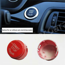 Red without auto ENGINE START STOP switch button for all the BMW F chassis car