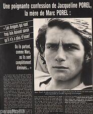 Coupure de presse Clipping 1983 Marc Porel  (5 pages)