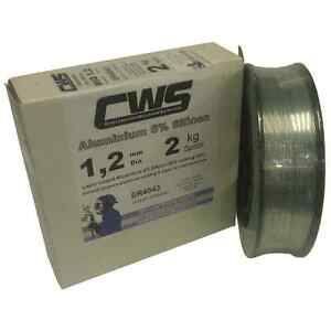 Aluminium MIG Welding Wire 5356 (NG6) 2kg 1.2mm Layer Wound. Free Delivery