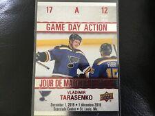 17-18 Upper Deck Tim Hortons Game Day Action #GDA-12 VLADIMIR TARASENKO