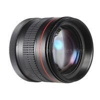 85mm f/1.8 Portrait Lens for Canon EOS 5D 6D 7D 50D 70D 60D 1DX SL1 T5i T4i T3i