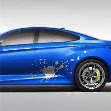 2x Splash FLECKEN 135cm Seitenaufkleber Design Auto Aufkleber Tuning Folie S45