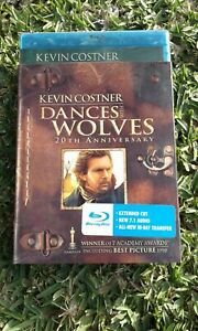 Dances With Wolves 20TH Anniversary Edition(1990 Film) Bluray Reg A NEW & SEALED