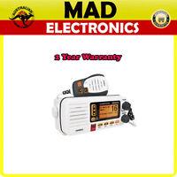 NEW UNIDEN UM455VHF MARINE RADIO WITH SUBMERSIBLE SPEAKER MICROPHONE DSC CLASS D