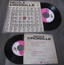NICOLE CROISILLE - Qu'est Ce Qui Se Passe Dans Mon Coeur French EP Pop 1969