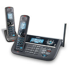 Uniden DECT4086-2 Two Line Cordless Phone with Banner Display on 2 Handsets