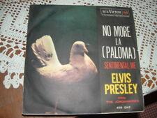 """ELVIS PRESLEY """" NO MORE ( LA PALOMA ) - SENTIMENTAL ME """"  ITALY'60"""