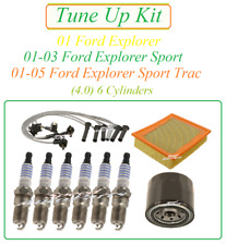 Tune Up for 01-05 Ford Explorer  Sport Trac 4.0 v6 Spark Plug Wire Set Air Oil