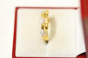 916/22ct sparkling attractive indian gold ring *Boxed*