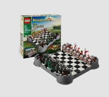 LEGO CASTLE KINGDOMS CHESS SET 853373 NEW RETIRED
