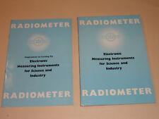 catalogue radiometer electronic 1959