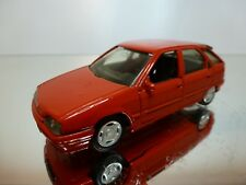 SOLIDO CITROEN ZX - RED 1:43 - VERY GOOD CONDITION - 2/3