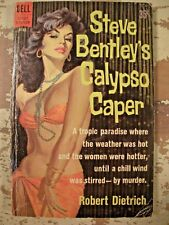 STEVE BENTLEYS CALYPSO CAPER Dietrich 1961 1st Edition DELL B182 Paperback