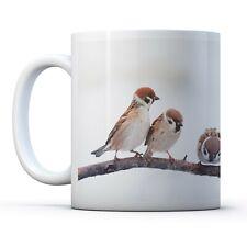 Cute Little Bird Sparrow - Drinks Mug Cup Kitchen Birthday Office Fun Gift #8142