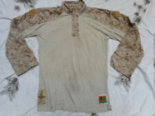 Genuine US MARINES USMC MARPAT DESERT marine FR COMBAT FROG UBAC SHIRT M R