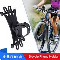 Bike Silicone Bicycle Phone Holder Motorcycle Handlebar Mount for iPhone Nokia +