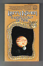 A WORLD OUT OF TIME (SIGNED by Larry Niven/1st US/awakening in the far future)