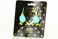 NEW AnUNe- For You Silstones Earrings No 105, 1 Pair, Silicone Jewelry, women