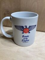 Missouri Pacific Lines Route Of The Eagles Railroad Train Coffee Mug Cup