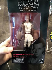"Star Wars Black Series 85 OBI WAN KENOBI (PADAWAN) 6""   Phantom Menace custom ca"