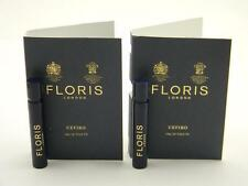 2 X FLORIS Cefiro Eau de Toilette Vial Sample Spray 1.2ml / 0.04oz