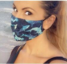 Shark Face mask! Awesome FaceMask For Summer! Sharks Sea Ocean Fish Nature