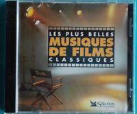 CD LES PLUS BELLES MUSIQUE DE FILMS CLASSIQUES Ref 0733