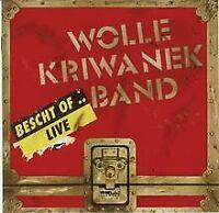 Bescht of... Live von Kriwanek,Wolle Band | CD | Zustand gut