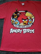 Angry Birds T-Shirt Child's Large Red New