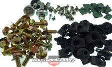 Holden Panel Bolt +Wheel arch Kit HQ HJ HX HZ 100pc Guard Fender Speed Nut Inner