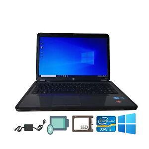 "HP Pavilion g7 i5-2410M 17,3"" 256GB-SSD 8GB-RAM WIN10PRO Akku NEU Notebook"