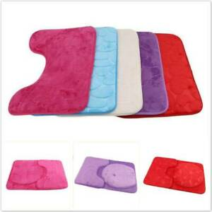 Toilets Bathroom Supplies Mats Three-Piece NEW Fashion Polyester Toilet Mat SM