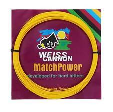Corde Tennis WEISS CANNON MatchPower 1.25 n.1 matassina 12m monofilamento