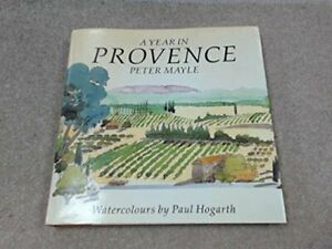 A Year in Provence: Illustrated Edition by Mayle, Peter Hardback Book The Fast