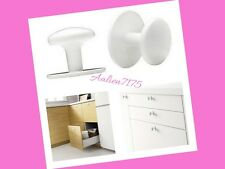 IKEA ULVSBO White Cabinet Drawer Pull Handles /  New in Package / 202.222.60