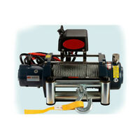 STO Universal KDS-8.0 8000lb Pound Electric Recovery Winch 12V Steel Cable Rope