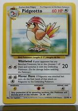 Pidgeotto 22/102 - NM - RARE Base Set Pokemon Card - $1 Combined Shipping