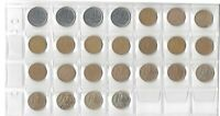 BRAZIL COMPLETE SERIES OF 10 CENT COINS - 1994 - 2018