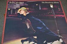 BARBRA STREISAND    THE BROADWAY ALBUM     LP   CBS RECORDS   86322   LP