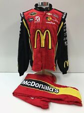 NASCAR Race Used Sparco Fire Suit SFI 3-2A/5 C46/W38/L32 Ganassi McMurray