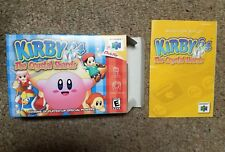 Kirby 64 Nintendo N64 BOX AND MANUAL ONLY RARE