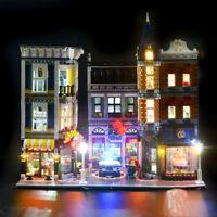 LED Light Lighting Kit ONLY For Lego 10255 Assembly Square Street Bricks Toys ≈