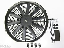 "13"" / 33cm Universal Radiator Electric Cooling Fan with Fitting Kit (Slimline)"