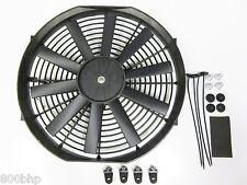"""13 """" / 33cm Universal radiador eléctrico ventilador de enfriamiento con Kit de montaje (delgado)"""