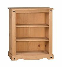 Mercers Furniture Corona Small Bookcase - Pine Traditional