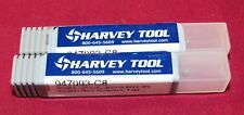 Brand new Harvey Tool Carbide End Mills 2 pcs lot