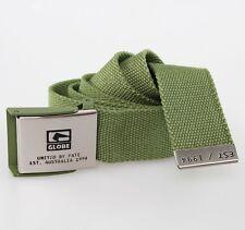 Belt Man Woman Globe Redman Belt Willow Green Green Skate Snow