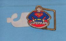 vintage SUPERMAN BELT BUCKLE by Pyramid Belt Co.