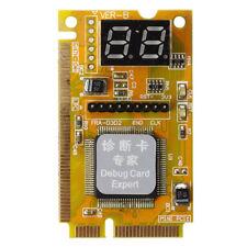 Carte de diagnostic pour ordinateur portable Mini PCI / PCI-E POST LPC a 2 Q2J6